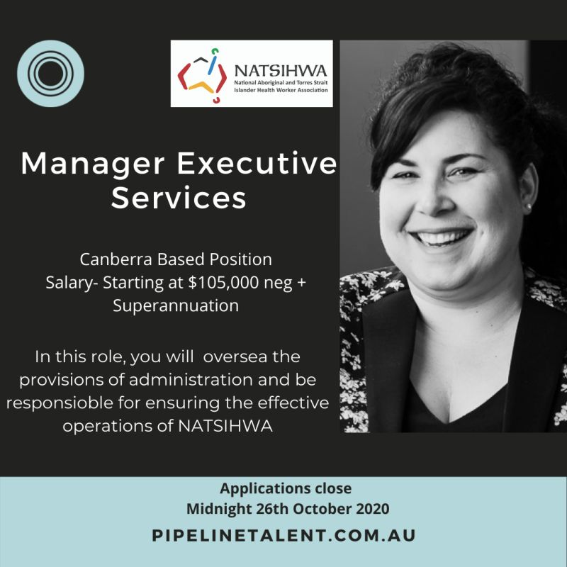 Manager – Executive Services