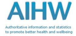Logo for AUSTRALIAN INSTITUTE OF HEALTH & WELFARE