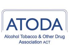Logo for Alcohol Tobacco & Other Drug Association ACT