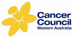 Logo for the Cancer Council Western Australia