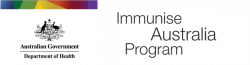 Logo for IMMUNISE AUSTRALIA PROGRAM