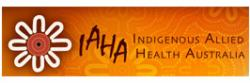 Logo for the Indigenous Allied Health Australia