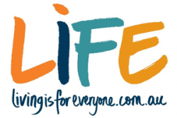 Logo for LIFE IS FOR EVERYONE (LIFE)