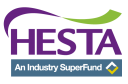 Logo for HESTA